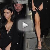 Kim Kardashian in Paris: Revealing!
