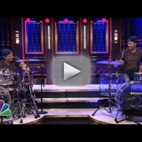 Will ferrell vs chad smith its a drum off