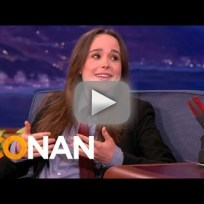 Ellen Page Talks Justin Bieber Dreams