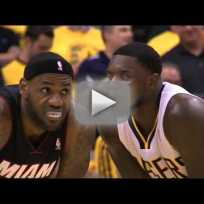 Lance stephenson blows in lebron james ear