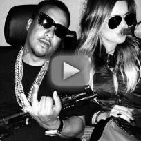 Khloe Kardashian-French Montana Gun Controversy