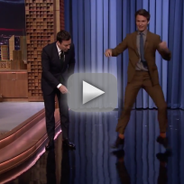 Ansel Elgort Tap Dances on The Tonight Show
