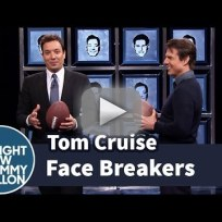 Jimmy fallon vs tom cruise in face breakers