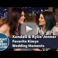 Kendall and Kylie Jenner Share Kimye Wedding Memories