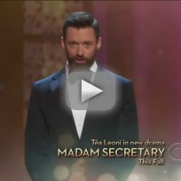 Hugh Jackman Raps with T.I. and LL Cool J at the Tonys