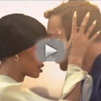 Rihanna and chris martin date night