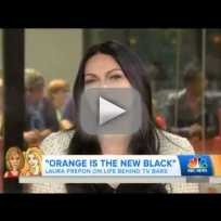 Laura prepon talks orange is the new black