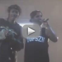Drake Smokes Marijuana on Stage