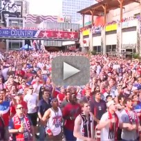 World Cup Fans Go Nuts Over Goal