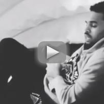 Chris Brown Raps Along to Drake