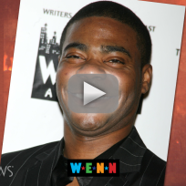 Tracy morgan on the mend