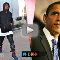 Kanye west to obama you suck