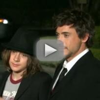 Robert Downey, Jr. Talks Son's Arrest