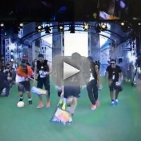 German Team Dances at World Cup Presentation!