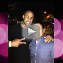 Hank Baskett Keeps Wedding Ring On