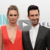 Adam levine and behati prinsloo married by jonah hill