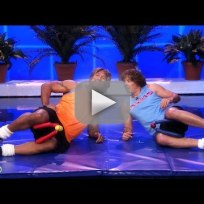 Jimmy fallon and dwayne johnson workout video