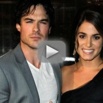 Ian somerhalder nikki reed at comic con
