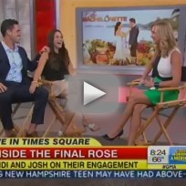 Andi dorfman josh murray on good morning america