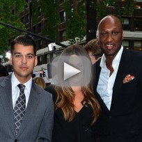 Khloe Blames Lamar for Rob Kardashian Drug Problems