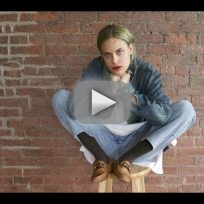 Tallulah willis strips for the whats underneath project