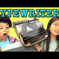 Kids React to Typewriter