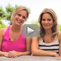 Candace cameron bure and andrea barber interview