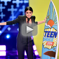 Selena gomez teen choice awards speech