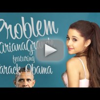 Barack obama problem ariana grande lip dub