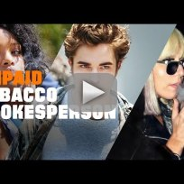 Anti smoking psa slams celebrities