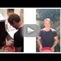 Matt Damon Accepts Ice Bucket Challenge