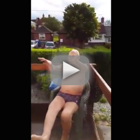 102-Year Old Man Takes Ice Bucket Challenge