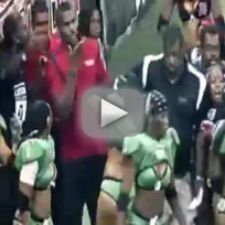 Lingerie football league fight