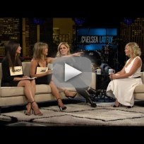 Mary mccormack jennifer aniston and sandra bullock on chelsea la