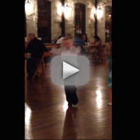 Kid Mesmerizes on Dance Floor
