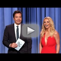 Britney Spears on Jimmy Fallon!