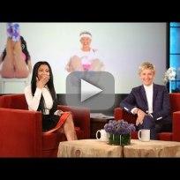 Nicki minaj reacts to ellens anaconda video