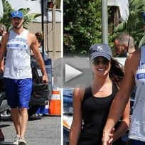 Lea michele shacks up with matthew paetz