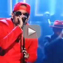 Chris brown tonight show performance 2014
