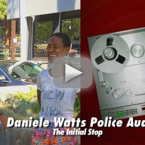 Daniele Watts Screams at Cops