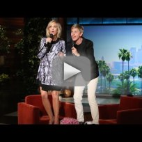 Kristen wiig and ellen degeneres sing let it go