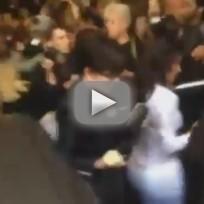 Kim Kardashian Attacked at Fashion Week