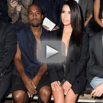 Kanye west and kim kardashian booed in paris