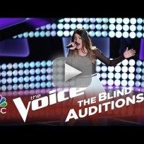Mia Pfirrman - Unconditionally (The Voice Audition)