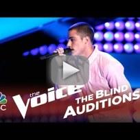 Chris jamison gravity the voice audition