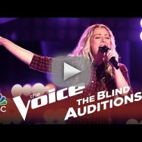 Amanda lee peers put the gun down the voice audition