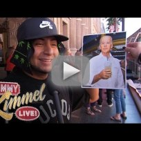 Jimmy kimmel asks pedestrians who is joe biden