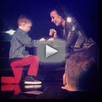 5 year old proposes to demi lovato