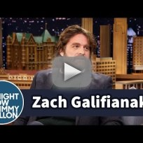 Zach galifianakis talks sons testicles