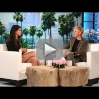 Selena gomez talks nudity with ellen degeneres